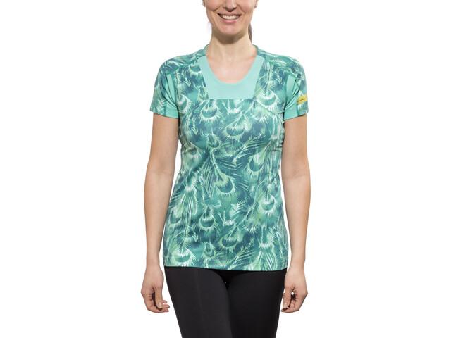 GORE RUNNING WEAR AIR PRINT Shirt Women turquoise